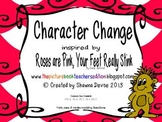 Character Change inspired by Roses Are Pink, Your Feet Really Stink