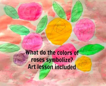 Roses Drawing Lesson: Learn to Draw Roses and What the Colors of Roses Symbolize