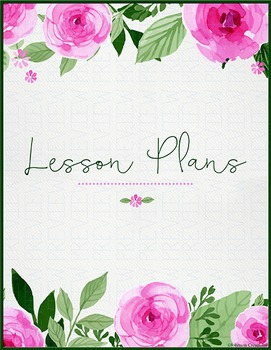 Roses Lesson Plans Book Cover
