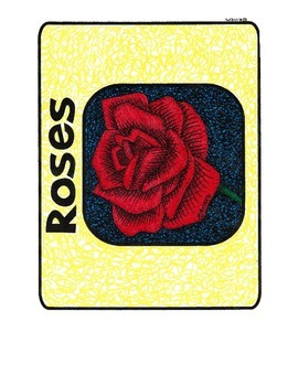 Roses and Thorns Sheets