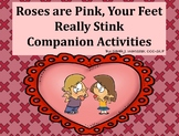 Roses are Pink, Your Feet Really Stink - Companion Activities for Speech Therapy