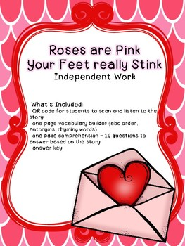 Roses are Pink, Your Feet Really Stink Independent Work