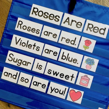 Roses are Red: Poem and Follow up Literacy Activities by ...