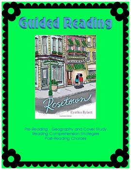 Rosetown - Guided Reading