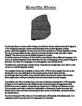 Rosetta Stone Handout