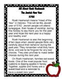 Rosh Hashanah {Texts, Questions, and Cards!}
