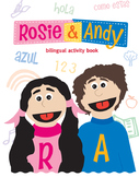 Rosie & Andy: Bilingual Activity Worksheets - What's Your Name? / Como Te Llamas