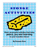 Rosie Resources Sponge Activities – 2nd Edition (34 fun & engaging transitions)