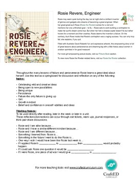 Rosie Revere Book growth mindset mini-lesson