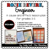 Rosie Revere, Engineer - A Cause and Effect Lesson