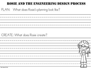"Rosie Revere,  Engineer - A ""STEM Crashes into ELA"" Unit!"