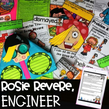 Rosie Revere, Engineer Activities and STEM Unit