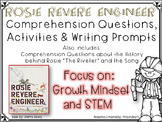 Rosie Revere Engineer - Growth Mindset - Research and Activities and STEM!