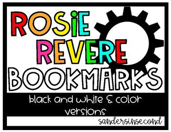 Rosie Revere Engineer Bookmark
