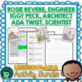 Rosie Revere Engineer, Iggy Peck Architect & Ada Twist Scientist Bundle