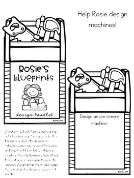 Rosie Revere, Engineer Literature Lap Book