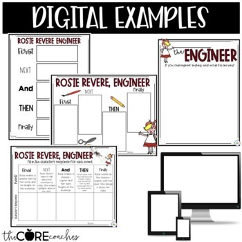 Rosie Revere Engineer Read-Aloud | Distance Learning | for Google Slides |Seesaw