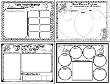 Rosie Revere, Engineer (Story Companion with story and nonfiction QR Codes)