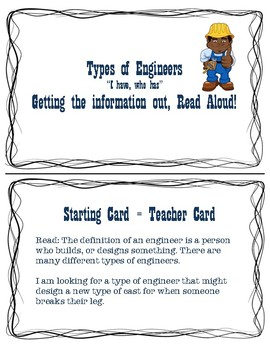 Rosie Revere Engineer - Vocabulary, Interactives and Kagan Type Activity