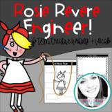 Rosie Revere, the Engineer: Book/Writing Activities, Craft, Vocab + STEM