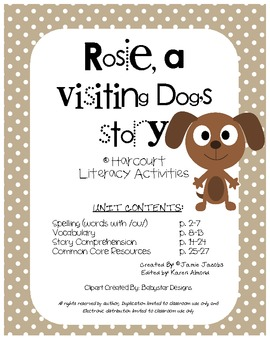 Rosie, a Visiting Dog's Story (Harcourt Supplemental Materials)