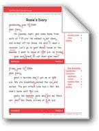 Rosie's Diary (Gr. 3/Week 8)