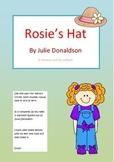 Rosie's Hat by Julia Donaldson literacy unit circle comprehension HOT