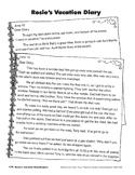 Rosie's Vacation Diary/El diario de las vacaciones de Teresa