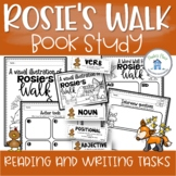 Rosie's Walk Book Study Reading and Writing Tasks
