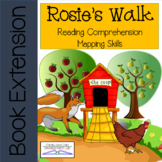 Rosie's Walk Comprehension and Mapping Activities DIGITAL