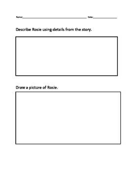 Rosie's Walk Comprehension Questions