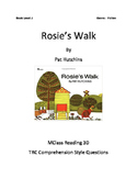 Rosie's Walk Comprehension Questions