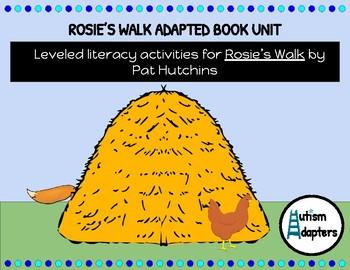 Rosie's Walk Leveled Adapted Book Unit