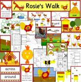 Rosie's Walk book study activity pack