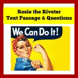 Rosie the Riveter Activity