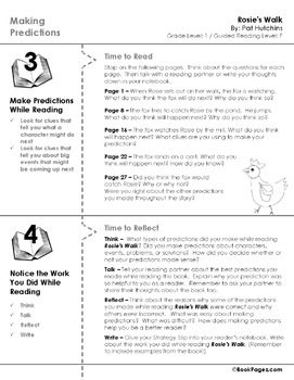 Rosie's Walk Lesson Plans & Activities Package, First Grade (CCSS)