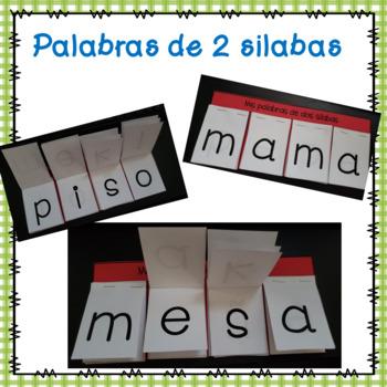 Rotafolio de silabas