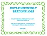 Rotating Weekly Reading Logs