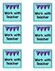 Rotation Card Bundle - Teal and Purple