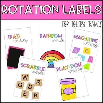 Rotation Labels