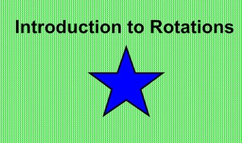 Rotation Lesson with Smartboard