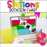 Rotation Charts for Math Stations or ELA Stations