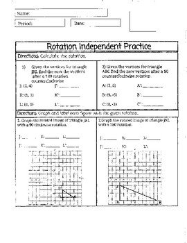 Rotation Practice