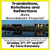Rotation, Reflection, Translation Math Enrichment Projects