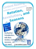 Rotation, Revolution, and Seasons Grab and Go Content Read