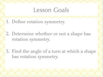 Rotation Symmetry Lesson