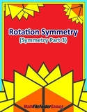 Rotation Symmetry (Symmetry Part 4) {Geometry Activity}
