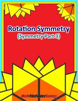 Rotation Symmetry (Symmetry Part 4) {Geometry Activity}