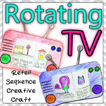 Sequence Retell  Timeline Rotating TV Story  (Endless)