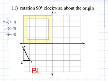 Rotation (Transformation of Shapes)